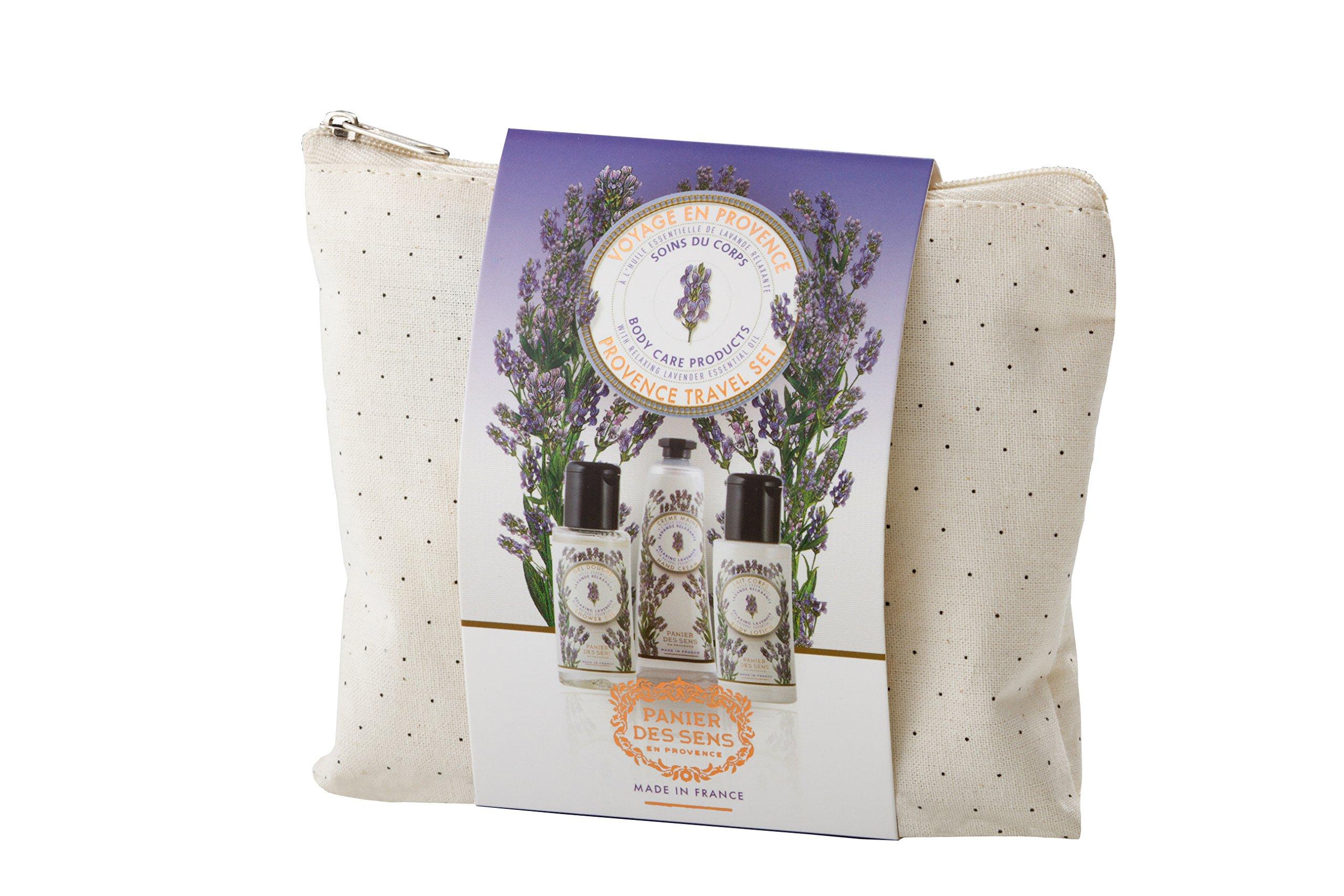 Panier des Sens Relaxing Lavender Travel Pouch