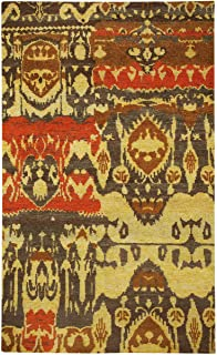 product image for Capel Round About-Juggler Salted Pecans 8' x 10' Rectangle Hand Knotted Rug