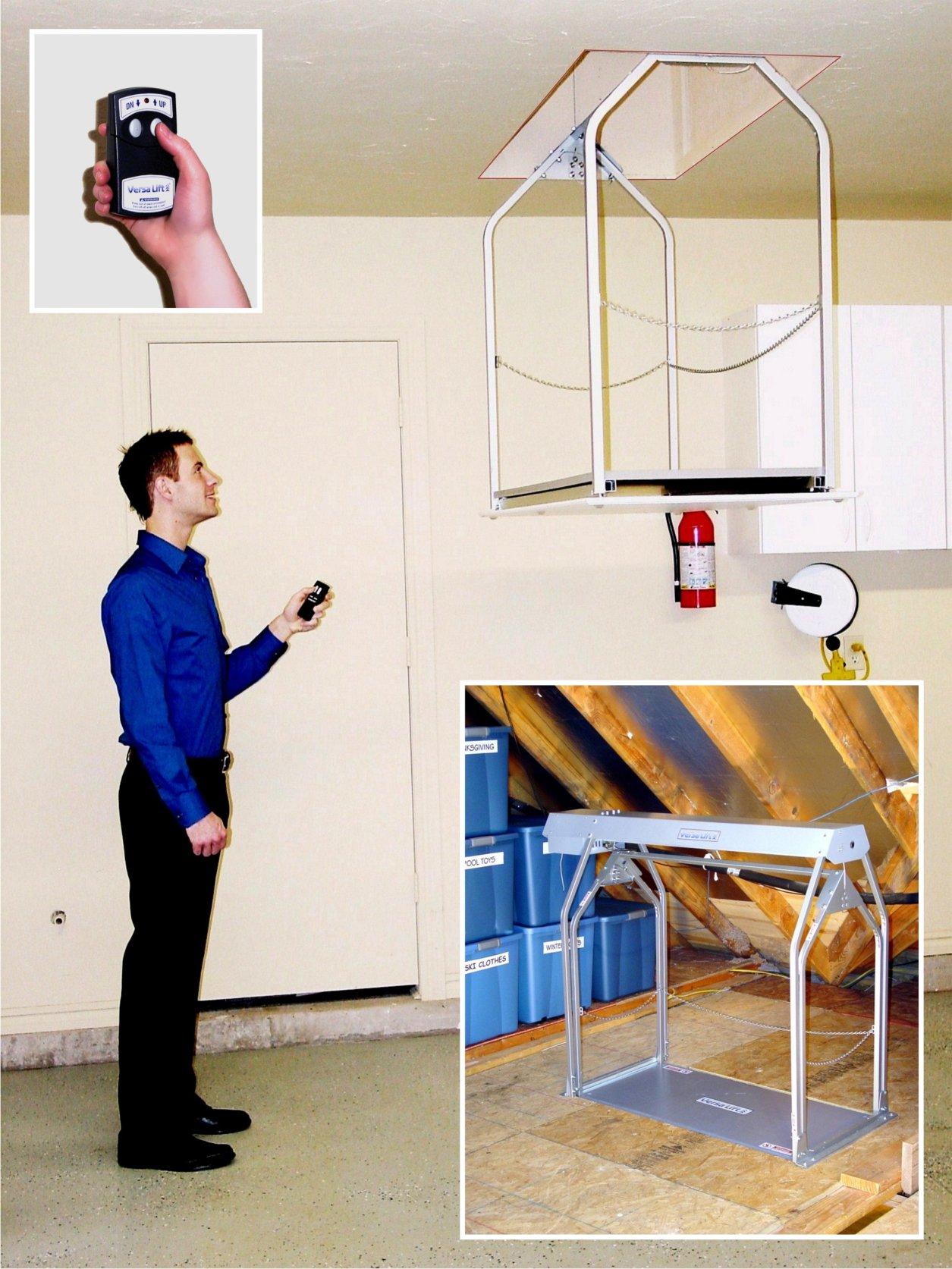 Versa Lift Storage Lift - 11-14ft. Lift, Wireless Remote Control, Model# 24WFH