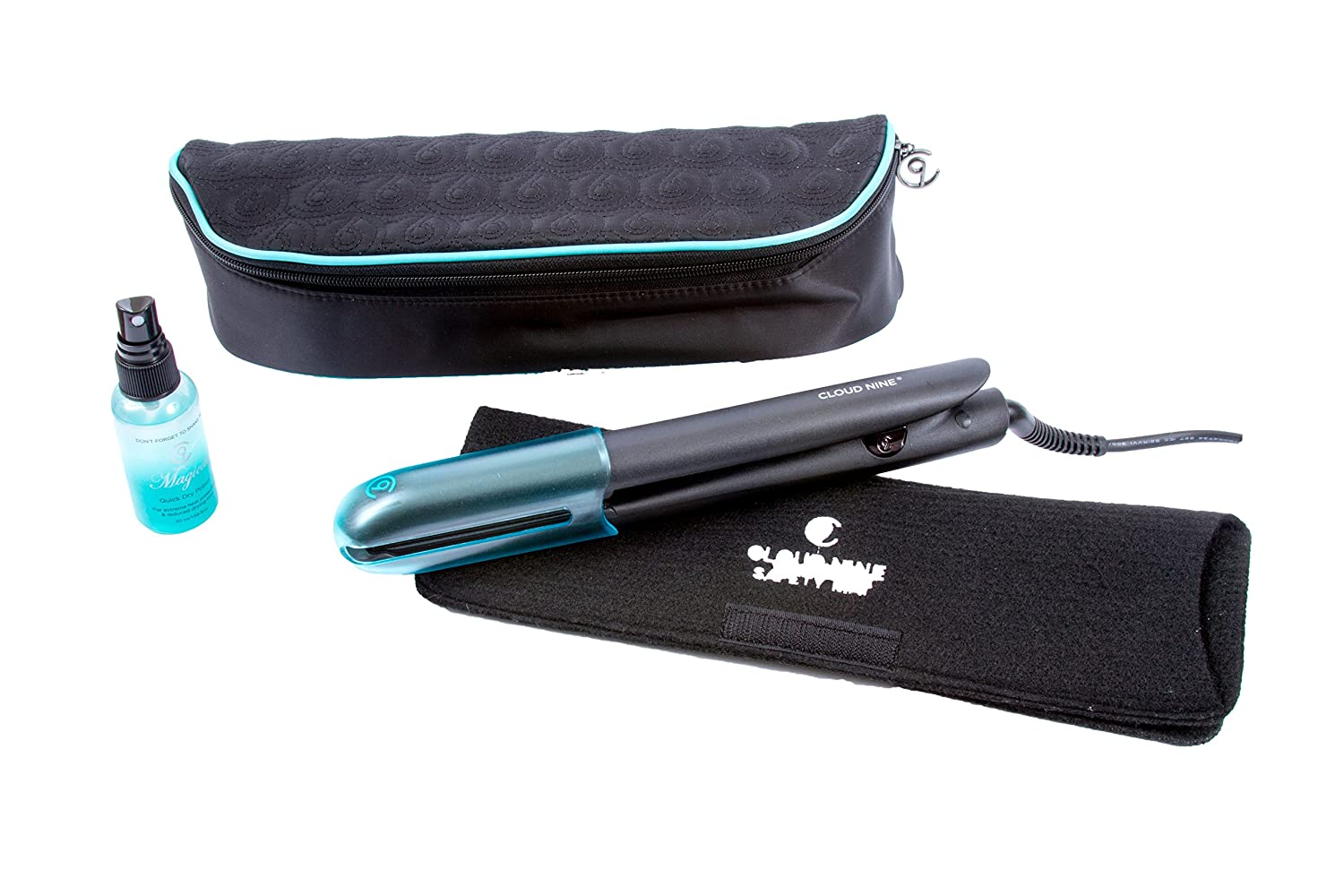 Cloud Nine 9 Touch Hair Straighteners & Cloud Nine Magical Quick Dry Potion