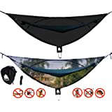 "CHILL GORILLA 11' BUG NET Stops Mosquitos, No See Ums & Repels Insects. Fits ALL Camping Hammocks. Compact, Lightweight. Eno Accessory. Fast Easy Setup. Size 132"" x 51"""