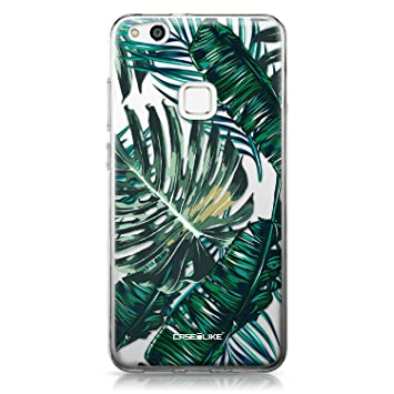 CASEiLIKE® Funda Huawei P10 Lite, Carcasa Huawei P10 Lite, Palmera tropical 2238, TPU Gel silicone protectora cover