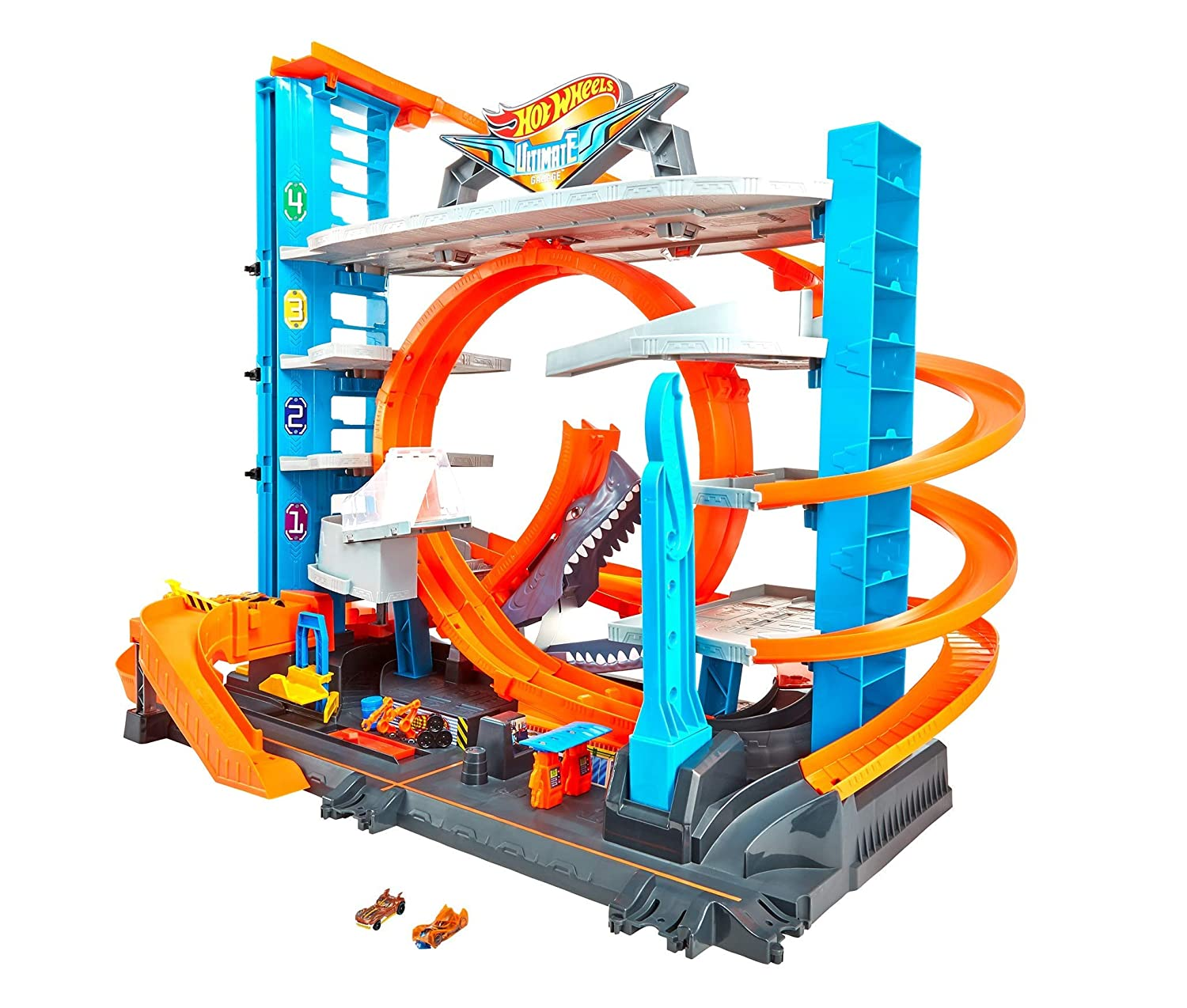 Mattel Hot Wheels Ultimate Garage Kids Toddler Children Play Game Set Kit