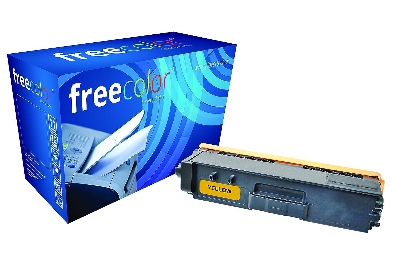 Freecolor TN328Y-FRC tóner y cartucho láser - Tóner para CDW, impresoras láser (Laser, Brother, MFC-9970 CDW, para HL-4570 CDW, HL-4570 CDWT, DCP-9270 CDN, Amarillo, TN328Y, Toner) 07f187