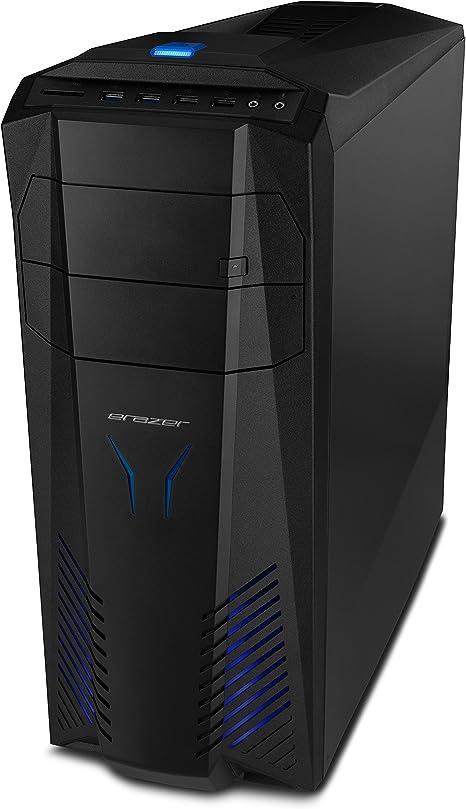 MEDION X57 - Ordenador de sobremesa (Intel Core_i5 2.7 GHz, nVidia GeForce GTX 1060 - 3 GB DDR5, disco duro de 1 TB, 32 GB de RAM) negro