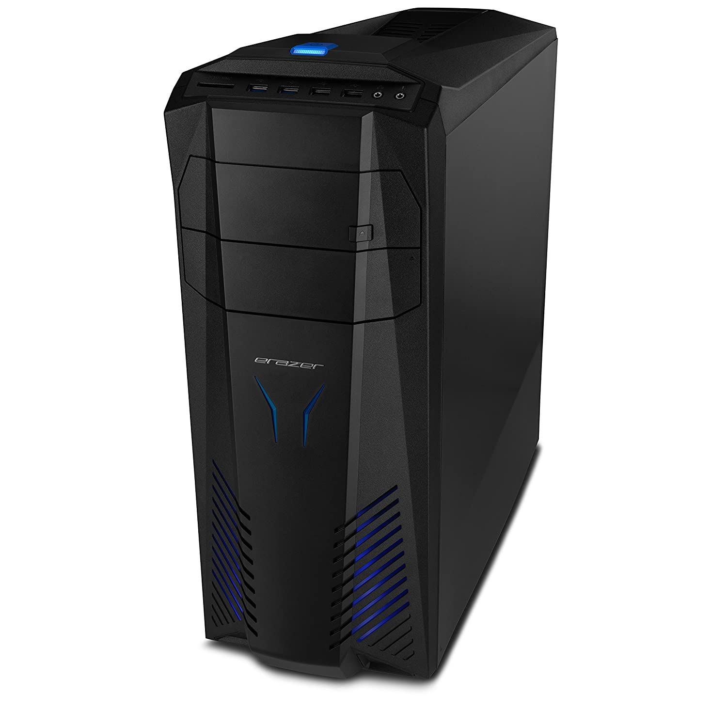 Medion X57 - Ordenador de sobremesa (Intel Core i5 2.7 GHz, 32 GB de RAM, 1 TB HDD + 240 GB SSD, nVidia GeForce GTX 1060 - 3 GB DDR5, Windows Home10) negro