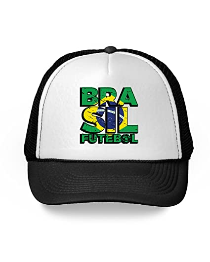 9c381c0944c Awkward Styles Brasil Trucker Hats Brazil Futebol Hats Brazil 2018 Soccer  Gifts Black One Size