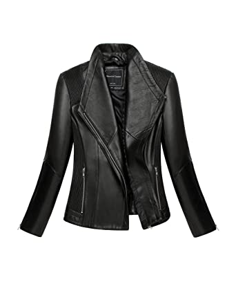 770baf9a31d5 Mason   Cooper Moto Leather Jacket at Amazon Women s Coats Shop