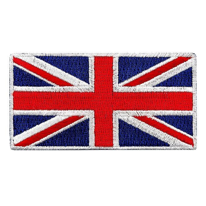 Parche Con Bandera Británica Bandera de Inglaterra Reino ...