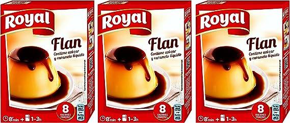 Royal Preparado para Flan 186 gr. - [Pack 3]: Amazon.es: Alimentación y bebidas