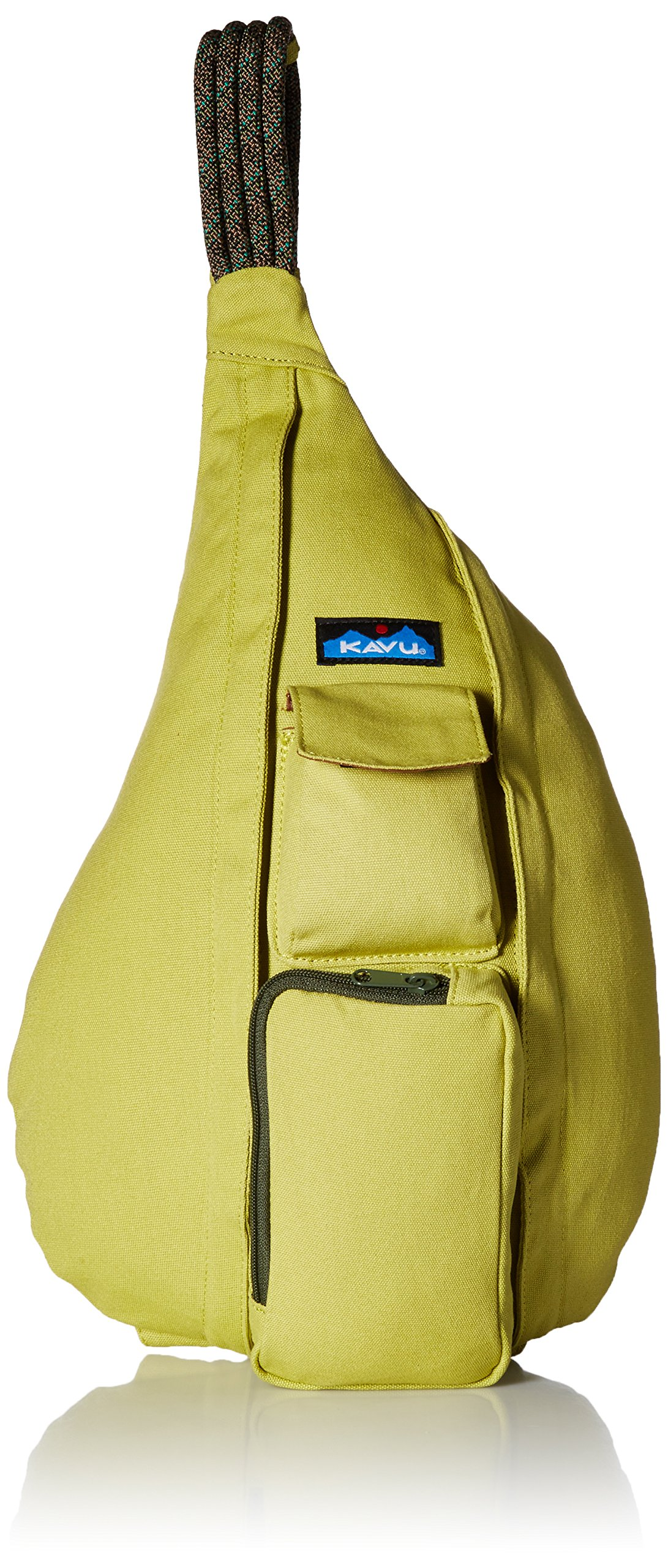 KAVU Rope Bag, Acid Green, One Size