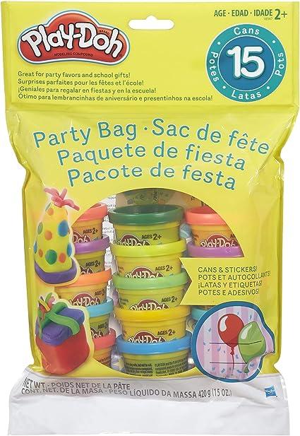 Play-Doh Bolsa de Fiesta de Juguete Incluye 15 tarros de Masa ...