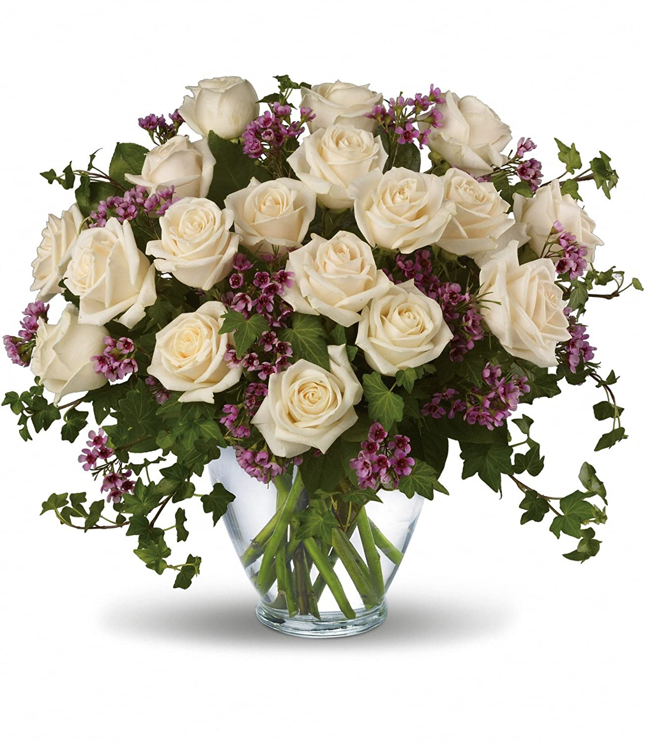 Victorian Creme Deluxe by Plaza Flowers -Mother's Day Flowers - Fresh and Hand Delivered
