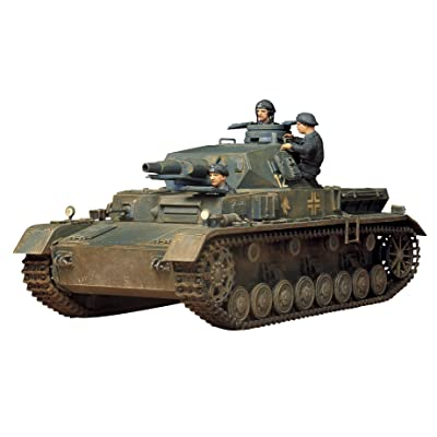 Tamiya Models Pzkfw IV Ausf D Model Kit: Toys & Games