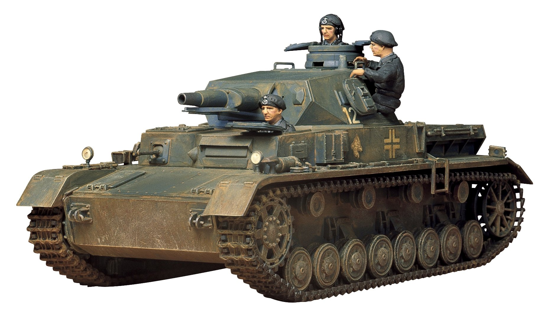 Tamiya America, Inc 1/35 German Panzer IV Ausf.D, TAM35096 1