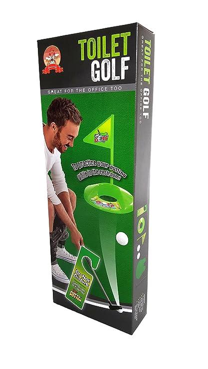 Amazon.com: Barwench Juego de golf para baño, para ...