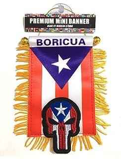 Amazon.com: flagsandsouvenirs Puerto Rico Flag & Mexico Flag ...
