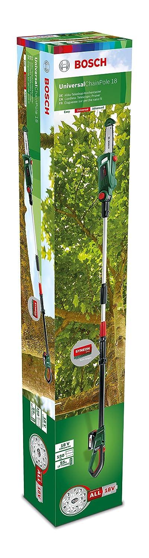 Bosch UniversalChainPole 18 Sierra de Cadena Telesc/ópica sin bater/ía ni cargador, Power4All 18V