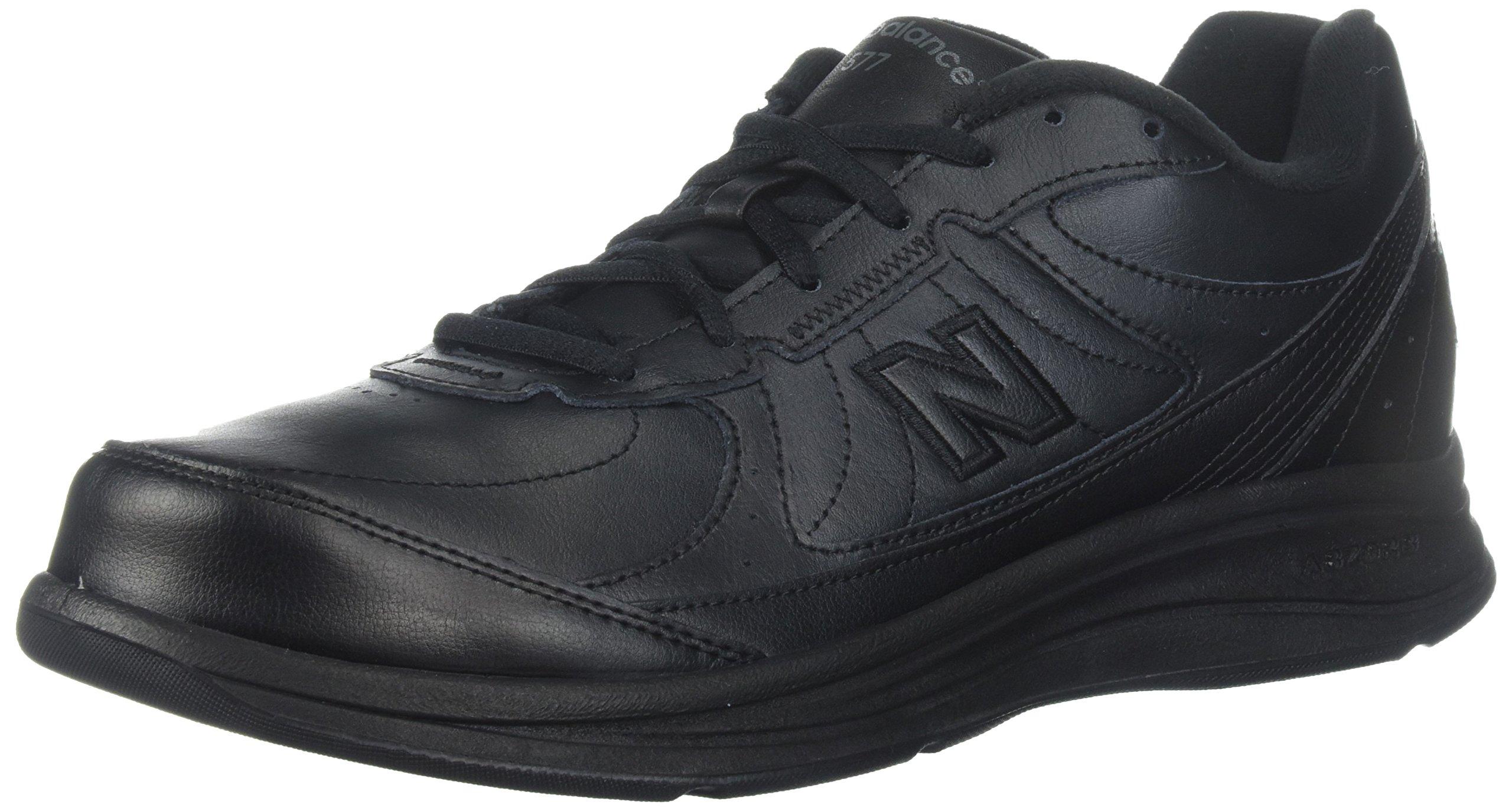 New Balance Men's MW577 Black Walking Shoe - 11.5 2E US by New Balance
