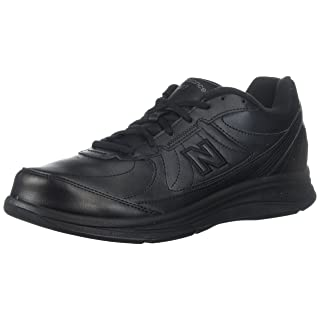 New Balance Men's MW577 Black Walking Shoe - 10.5 4E US