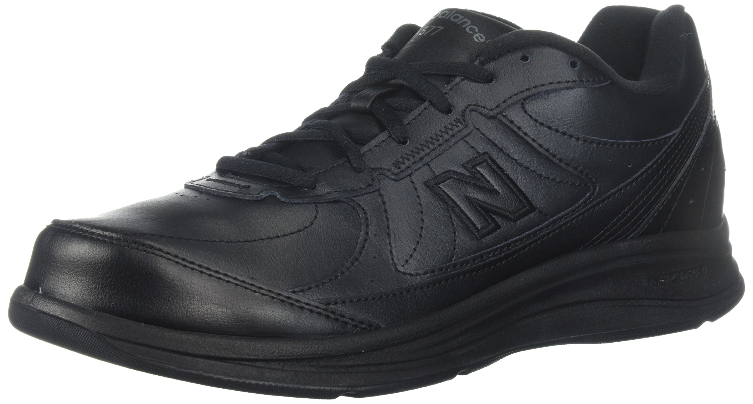 New Balance Men's MW577 Black Walking Shoe - 9.5 4E US