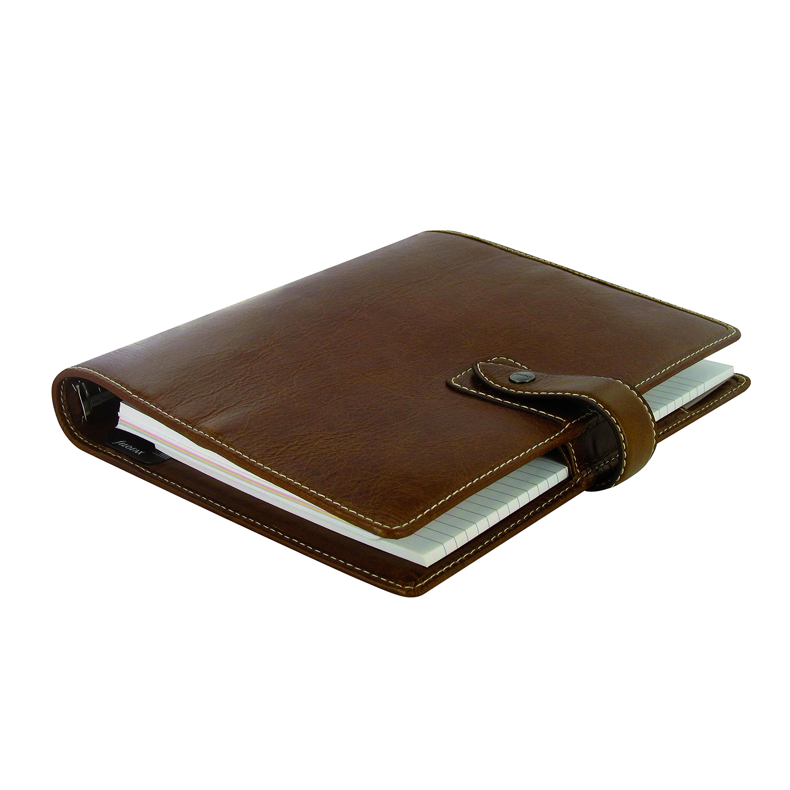 Filofax A5 Malden Organizer, Leather, Ochre, 8.25 x 5.75 (C025847-2019) by Filofax (Image #1)