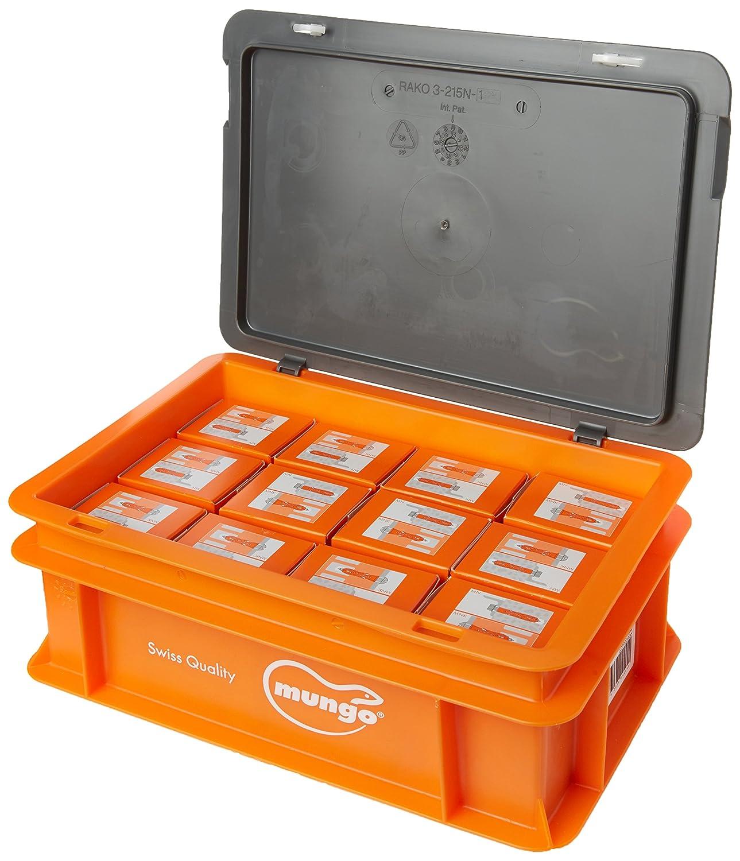 1000100 Mungo MN Plug Nylon 10/x 50/mm 50/Pieces Orange