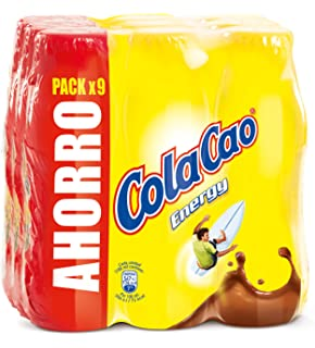 Cola Cao Energy - Paquete de 9 x 188 ml - Total: 1692 ml