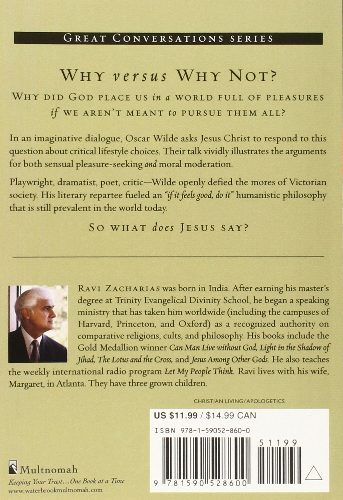 Sense and sensuality jesus talks to oscar wilde on the pursuit of sense and sensuality jesus talks to oscar wilde on the pursuit of pleasure great conversations ravi zacharias 9781590528600 amazon books nvjuhfo Images