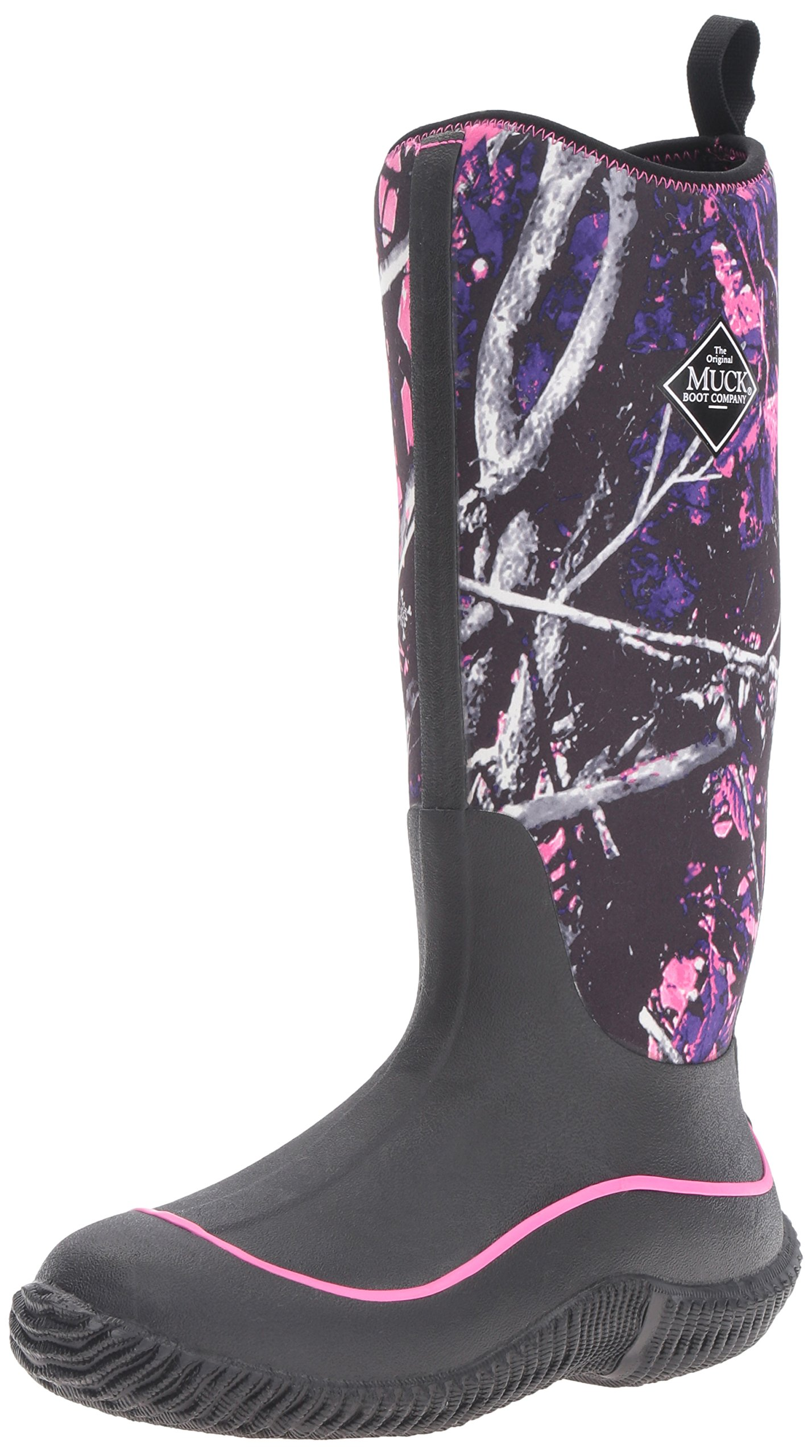 Muck Boot Women's Hale Snow Boot, Black/Muddy Girl Camo, 7 M US by Muck Boot (Image #1)