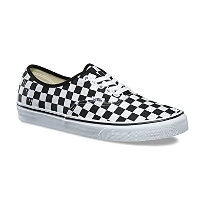 Vans Unisex Authentic Checkerboard Canvas Trainers | Skateboarding