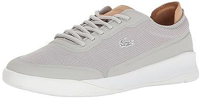 Lacoste Men's Light Spirit Elite 117 3 Casual Shoe Fashion Sneaker, Light  Grey, 7
