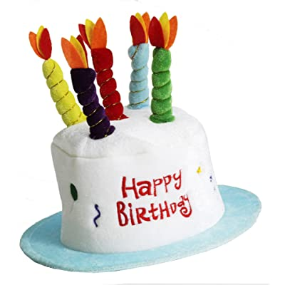 Forum Novelties - Happy Birthday Cake Top Hat: Toys & Games