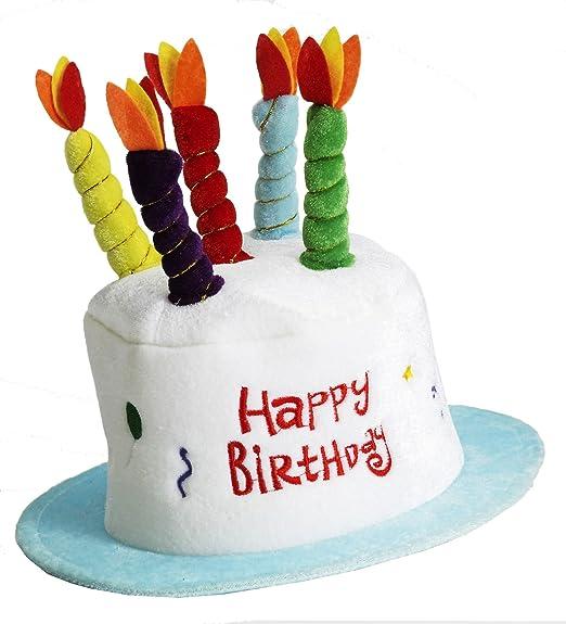 amazon com forum novelties happy birthday cake top hat novelty
