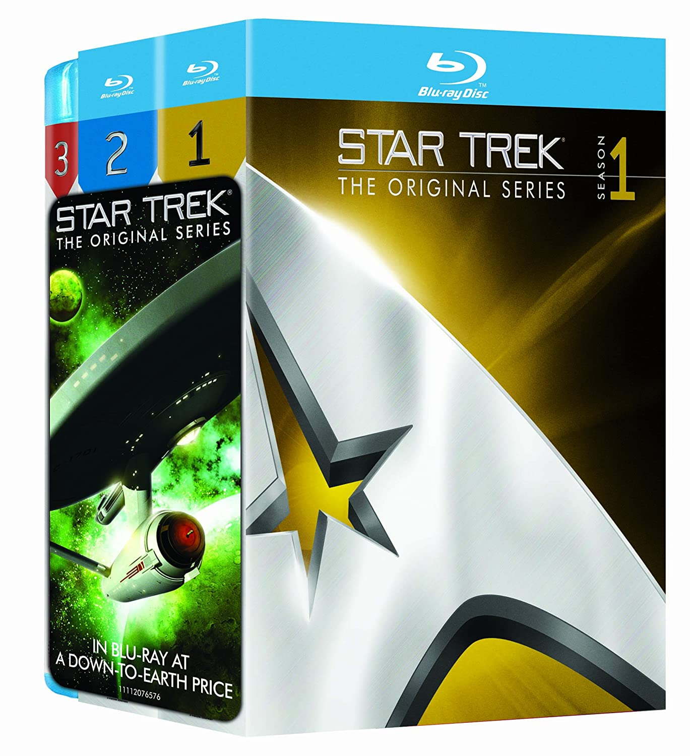 Star Trek: Original Series - Three Season Pack Reino Unido Blu-ray: Amazon.es: Cine y Series TV