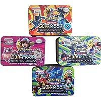 Charnalia Pokemon - Sun & Moon Burning Shadow Trading Cards in Tin Box