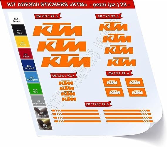 Primastickerslab KTM_Kit 1 - Juego de adhesivos para bicicleta, 23 ...