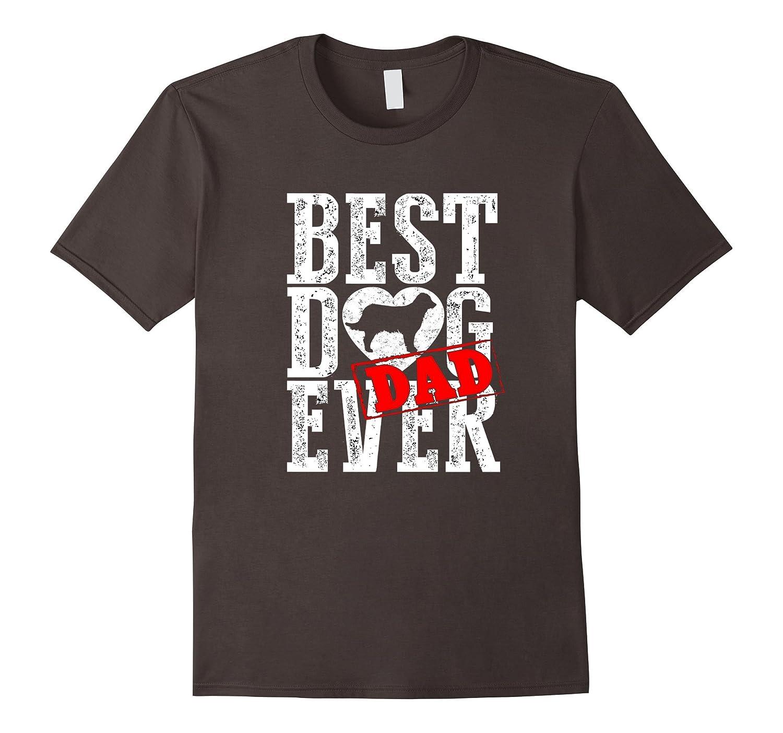 Best Golden Retriever Dad Ever Best Golden Retriever Shirt-Teeae
