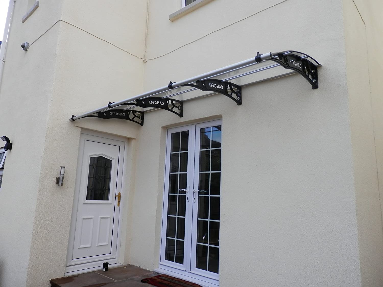 DIY Polycarbonate Cantilever Door Canopy 1000x 2000mm/Garden Shelter Smoking Shelter Amazon.co.uk DIY u0026 Tools & DIY Polycarbonate Cantilever Door Canopy 1000x 2000mm/Garden ... pezcame.com