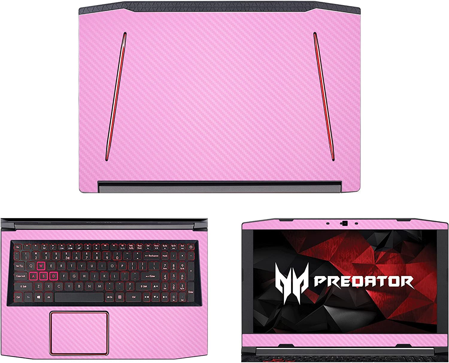 decalrus - Protective Decal for Acer Predator Helios 300 G3-571 (15.6