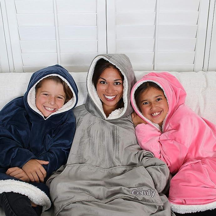 金盒特价 THE COMFY 儿童抓绒保暖外套 8折$27.99 海淘转运到手约¥260 男、女童2色可选