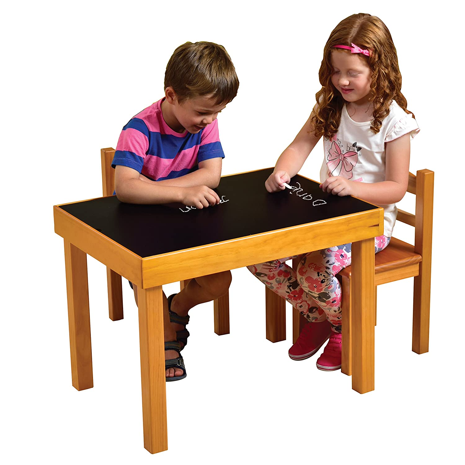 Liberty House Toys Multi Purpose Wooden Table And Chairs Set: Amazon.co.uk:  Toys U0026 Games