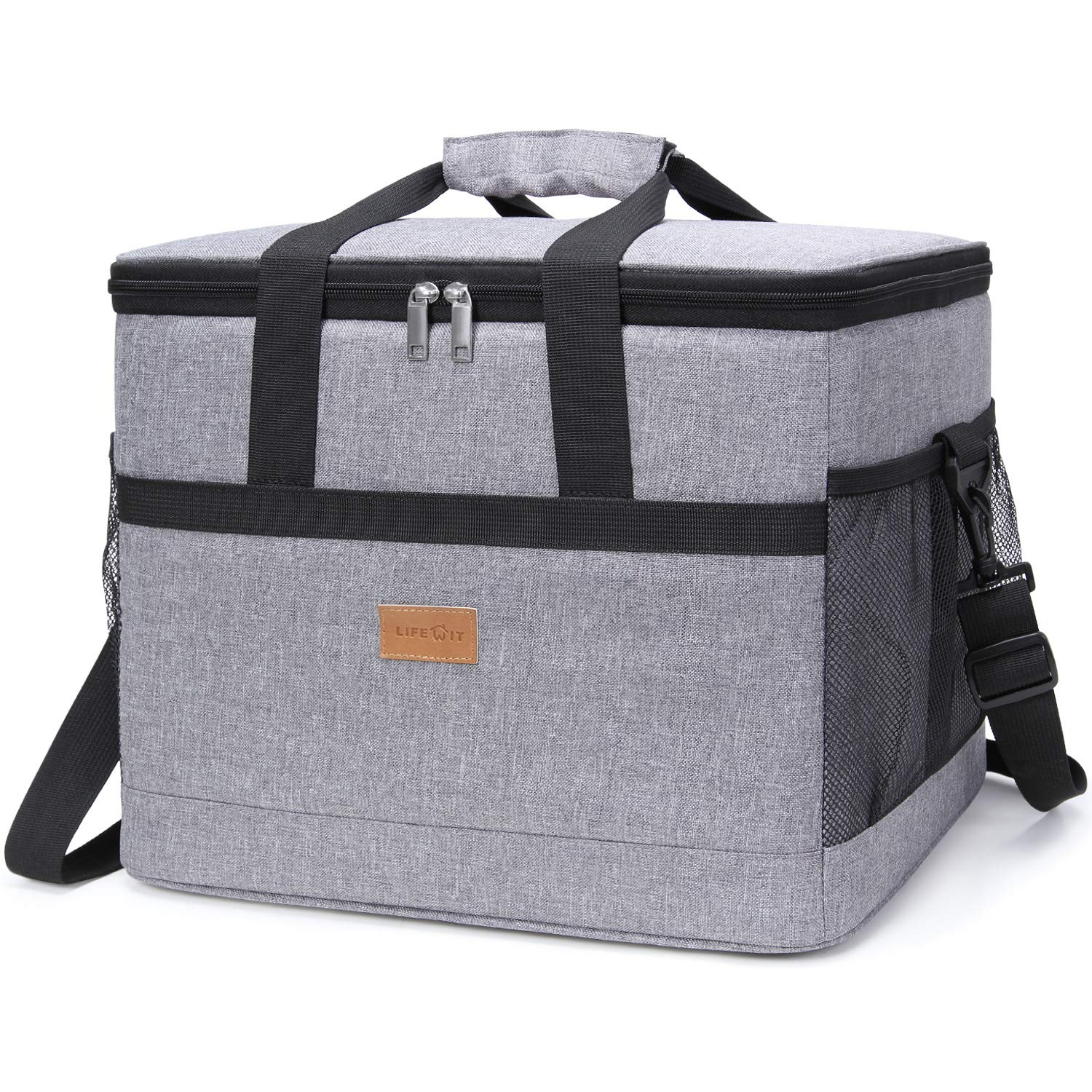dc94f6466134 Lifewit 30L (50-Can) Soft Cooler Bag with Hard Liner