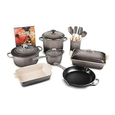 Le Creuset 16-piece Cookware Set (Oyster)