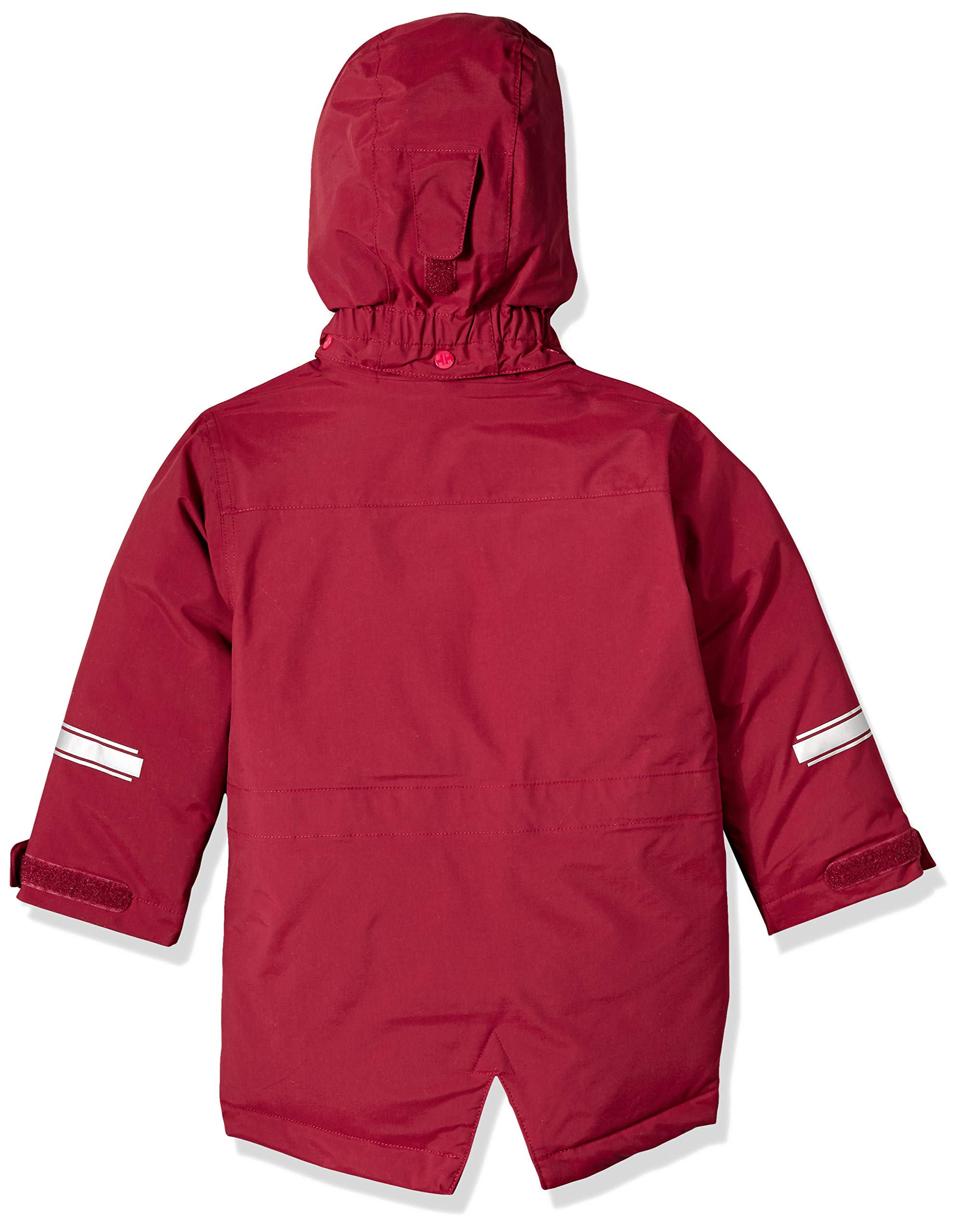 Helly Hansen K Isfjord Down Parka Jacket, Cabernet, Size 4 by Helly Hansen (Image #2)
