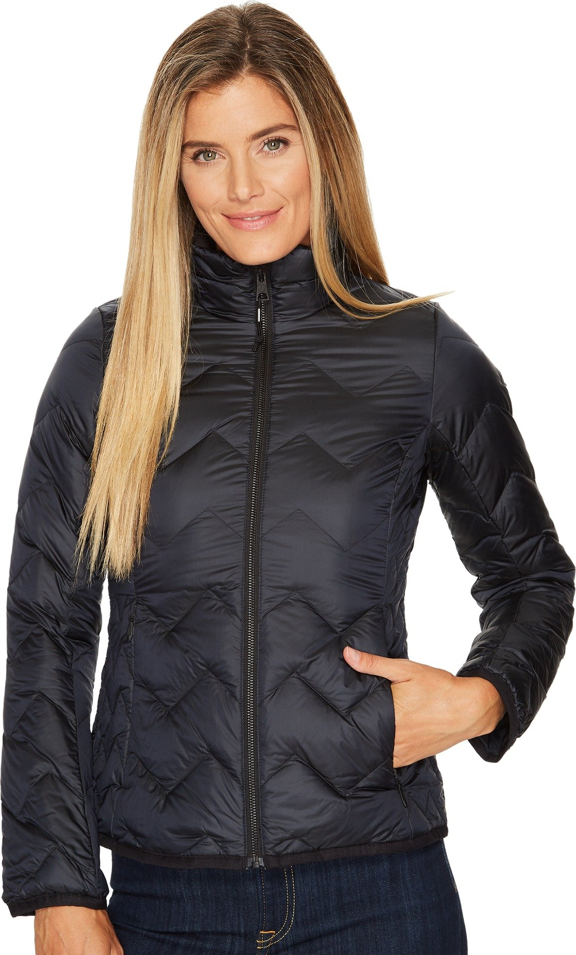Obermeyer Women's Del Down Insulator Black L by Obermeyer