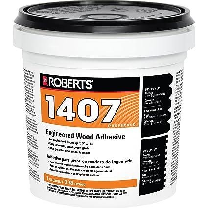Roberts 1407 1 Engineered Wood Flooring Adhesive Glue 1 Gallon