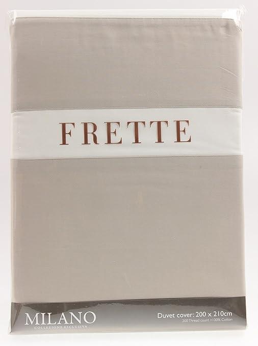 Copripiumino Frette.Copripiumino Roma Singolo 140 X 200 Cm Frette 1706101 In Cotone