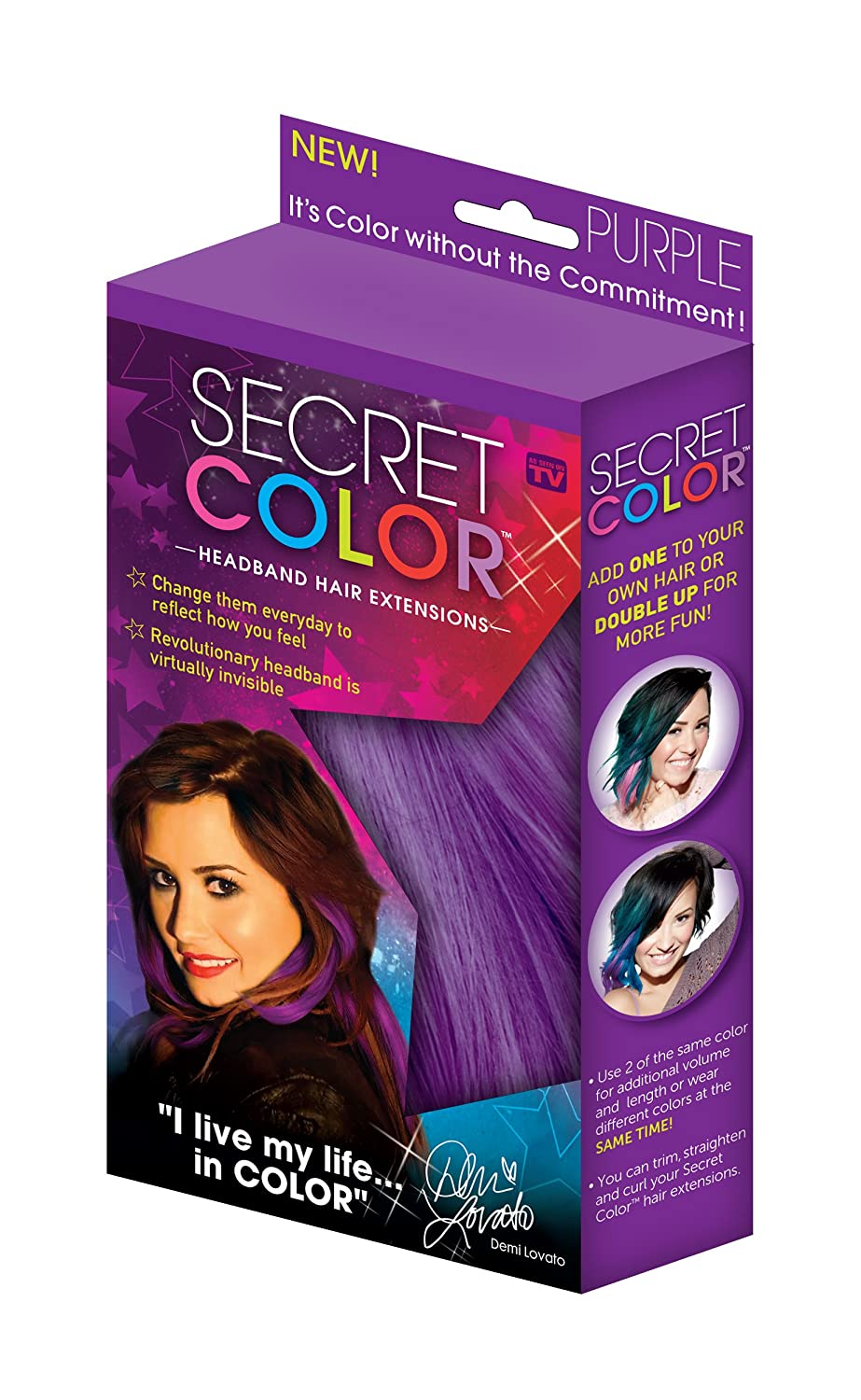 Amazon Secret Color Hair Extensions Blue Beauty
