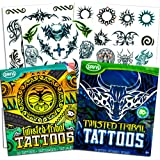Amazon.com: Rock Star Tatuajes Temporales Favor de fiesta ...